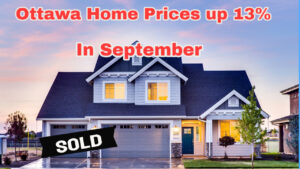 Ottawa Home Prices up 13% in September